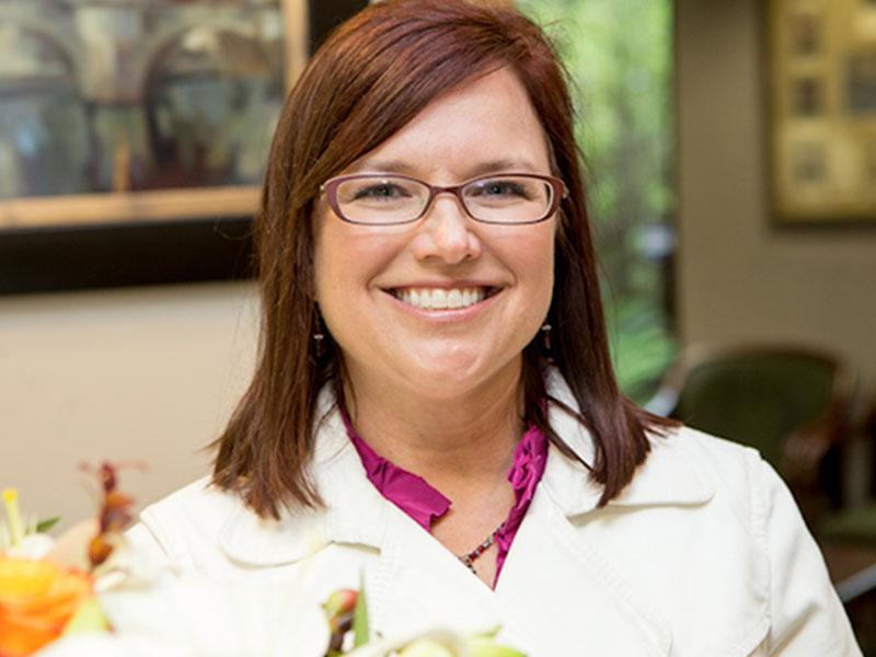 Dr. Vicki Fidler Smiling