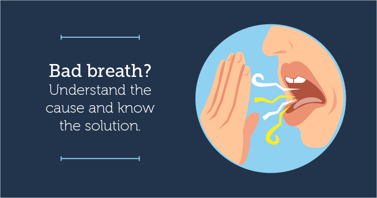 Inderstand the causes of bad breath and know the solutions.