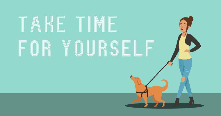 It's Daylight Savings Time. Take some time for yourself!