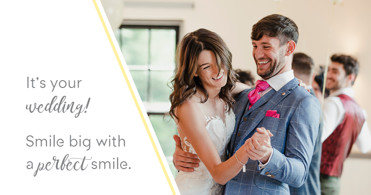 wedding planning smile makeover