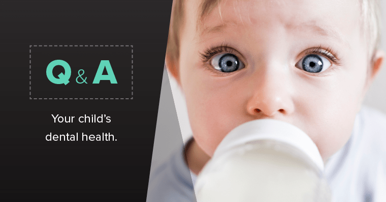 TOP QUESTIONS PARENTS ASK ABOUT THEIR CHILD'S TEETH