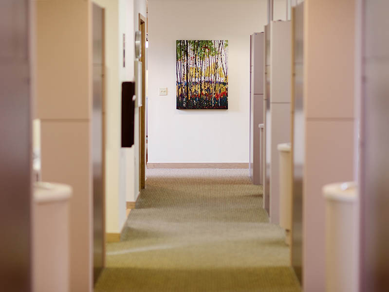photo of the hallway at Fidler on the tooth