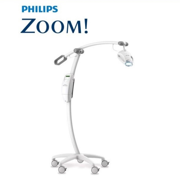 The Philips Zoom! proprietary whitening light.