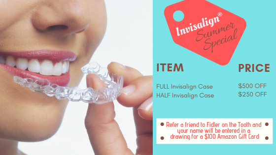An offer for Invisalign