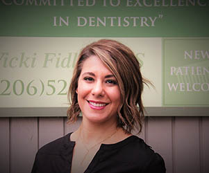Mona, Registered Dental Assistant who enjoys making a difference in the lives of her patients.
